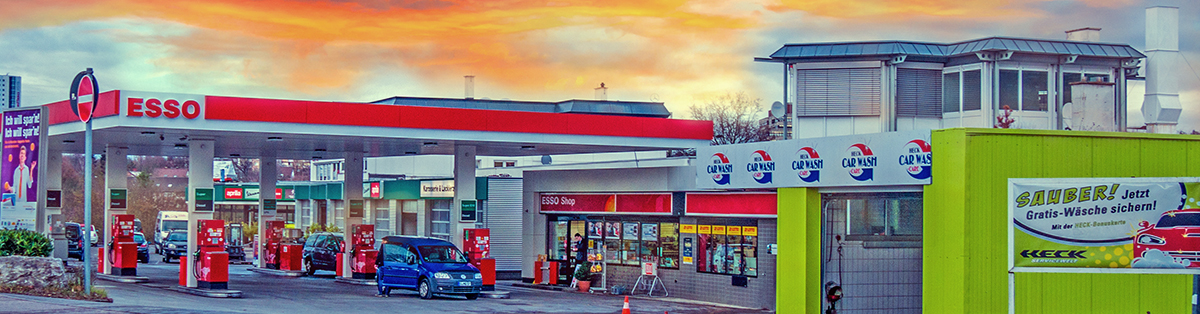 Esso Tankstelle Heck in Möhringen - Fasanenhof